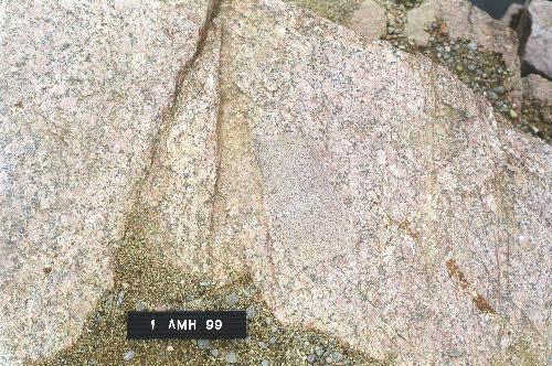 Bölen graniitti, Närpiö.