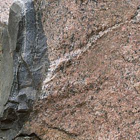 Bodomin graniitin kontakti