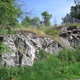 Vallikallion kivilajikontakti